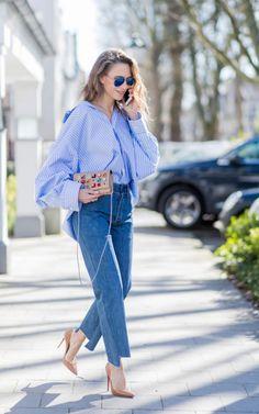 Así son los jeans de la temporada.