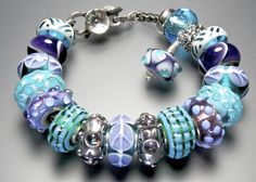 I ♥ my Louise dangle ☮ A stunning bracelet by a great collector-Thank you Sharon!!!