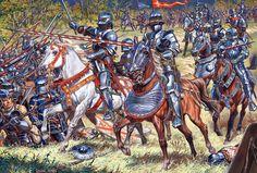 Cavalieri francesi, XV secolo