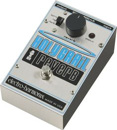 Electro-Harmonix Classics Holy Grail Reverb Guitar Effects Pedal Guitar Stand, Box Guitar, Guitar Effects Pedals, Guitar Pedals, Reverb Pedal, Drum Accessories, Acoustic Drum, Brass Instrument, Pickup Covers