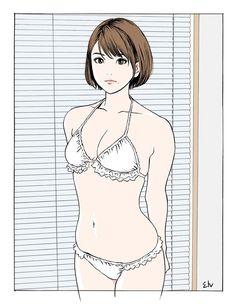 HISASHI EGUCHI(江口寿史) Comics Illustration, Japanese Illustration, Illustration Girl, Illustrations, Character Illustration, Sexy Drawings, Art Drawings, Animes Emo, Manga Art