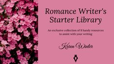 Karen Winter - website of the internationally published author of the popular book series Romance Writers' Bookshelf. Writing Romance, Writing Goals, Romance Authors, Popular Book Series, Popular Books, Exclusive Collection, Book Crafts, Writers, Hooks