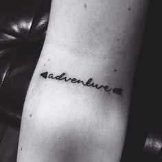 Arrow adventure tattoo