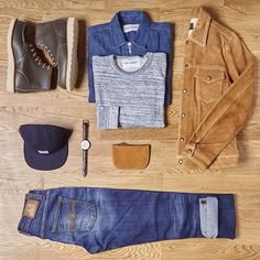 Today's store outfit square was chosen by Scott from our END. store and features Our Legacy, BEAMS PLUS, Red Wing Heritage, Nudie Jeans Co, Norse Projects, Daniel Wellington and Visvim. www.endclothing.co.uk