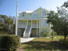 MLS #13-4494   9907 THISTLEROY Ln, Emerald Isle, NC   This upscale home is furnished with taste and design. Located in Spinnaker Reach, you have everything. The private pool offers sun and fun. The home is situated on a cul de sac offering privacy and space. There is a large side yard for children or more outside activity. Easy access to the beach is provided by the use of your own golf cart.