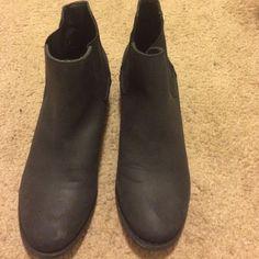 Black booties Brand new never been worn black booties Diba Shoes Ankle Boots & Booties