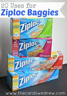 20 Uses for Ziploc Bags that will blow your mind! #cbias #shop