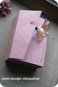 Claudinchens-kreative-Seite: Libellenbox mit Schiebeverschluss