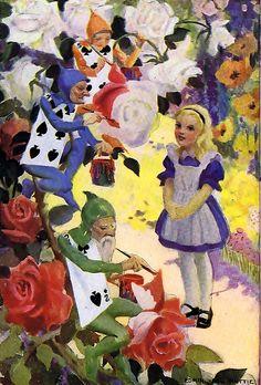 Alice in Wonderland - Edwin John Prittie, 1923