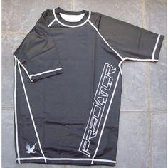 Predator Compression Top Rash Guard MMA Large Black Short Sleeved ( Kompression) Listing in the Apparel,Martial Arts,Sporting Goods Category on eBid United Kingdom   144742759