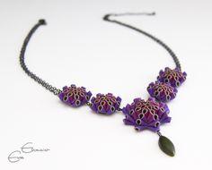Artichoke+Drop+Necklace