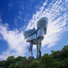 Daewon Park Observatory by Kyungam Architects Associates C'est un restaurant.