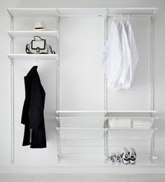 Ikea Algot Clothes Storage System   Maybe For The Third Floor Closet?  And/or Kidsu0027 Closets?