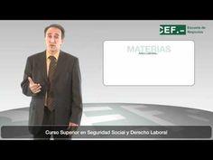 Curso Superior en Seguridad Social y Derecho Laboral: http://www.cef.es/cursos/Curso-Superior-en-Seguridad-Social-y-Derecho-Laboral-444465422C.asp