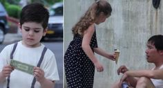 He Handed Each Kid a Dollar For Ice Cream, And What They Did Instead Is Inspiring http://www.iconicvideos.biz/he-handed-each-kid-dollar-ice-cream-did-instead-inspiring/