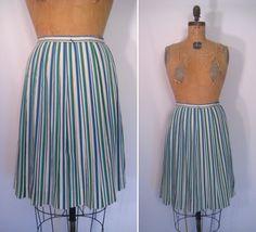 1950s / 1960s striped circle skirt