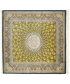 Qum Gombad Pure Silk Rug. Shop more Oriental Rugs at Liberty.co.uk