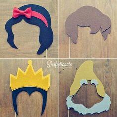 Máscara personagens.