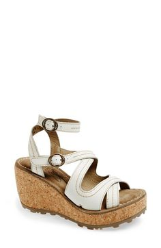 712fa053 Fly London 'Ghee' Wedge Sandal (Women) available at #Nordstrom Fly London