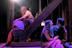 The cast in the dress rehearsal of the Circle Theatre's production of Jesus Christ Superstar. (Katy Batdorff | MLive.com)