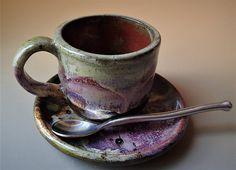 Espresso Cup and Saucer Double Espresso Lungo Size