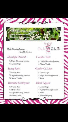 Pink Zebra Night Blooming Jasmine recipes.