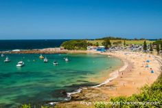Isn't Terrigal Haven the perfect spot for summer holidays? Central Coast, Romantic Getaways, Beach Scenes, Adventure Is Out There, Beach Fun, Great View, Australia Travel, Vacation Spots, Places To See
