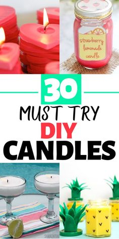 Diy Candles To Sell, Diy Candles Easy, Diy Candles Scented, Making Candles, Soy Candle Making, Homemade Candles, Homemade Gifts, Shell Candles, Tin Candles