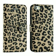 E.C.L USA Premium PU Leather Wallet Case Cover for iPhone 5 C (All Carriers). (iPhone 5 C, Leopard Pattern 1) (788581593608) Colorful PU Leather Wallet Type Magnet Design Flip Case Cover for iPhone 5c. Allows access to all ports and buttons. Against unwanted bumps, accidental drops, scratches, bruises or stains. Includes slots to store your credit cards / business cards. Made for Eagle Case Line, USA 2013