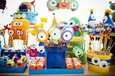 festa infantil: monstrinhos - constance zahn