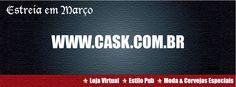 Estreia em Março a Loja Virtual da CASK | Moda e Cervejas Especiais | www.cask.combr