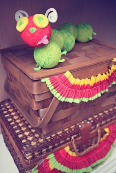 Cute for a Very Hungry Caterpillar Party! #veryhungrycaterpillar #party