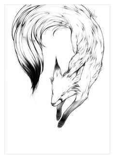 The King of the Kitsune in fox form.                                                                                                                                                                                 More