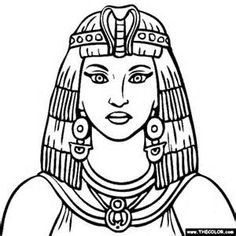 Cleopatra Coloring Pages - Bing Images