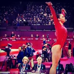 Judge's reaction to McKayla Maroney's vault. Haha that's awesome.