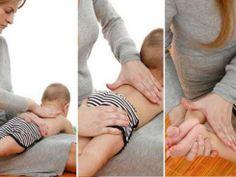 Masaje para bebé tipo shantala