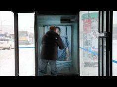http://www.trendhunter.com/slideshow/active-bus-stop-ads