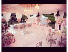 Beautiful marquee x