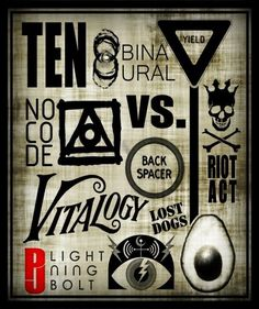 Tattoo music rock pearl jam ideas for 2019 Great Bands, Cool Bands, Pearl Jam Tattoo, Pearl Jam Albums, Do The Evolution, Pearl Jam Posters, Pear Jam, Pearl Jam Eddie Vedder, Blues