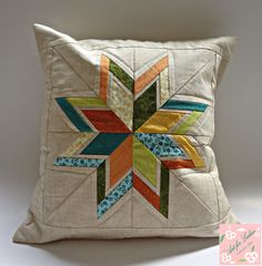 Pillow patchwork (paper piecing - foundation)                                                                                                                                                     More