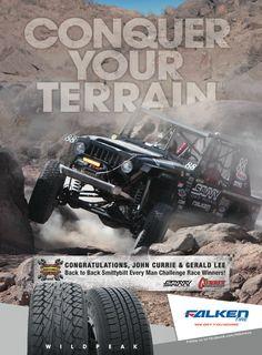 Dirtsports Magazine Ads, Conquer Your Terrain, Wildpeak