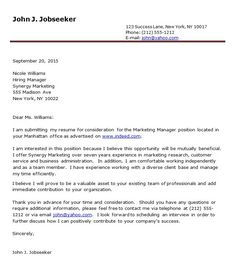 Letter Examples on Pinterest | Reference Letter, Cover ...