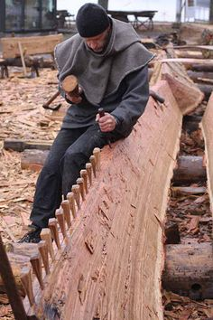 building the world's most iconic viking ship, part 1 - Robin Wood