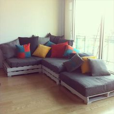 Top 20 Pallet Couch Ideas – DIY Pallet Sofa Designs