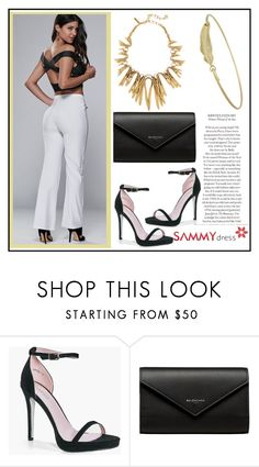 """""""Black and white :) - 14"""" by elma-993 ❤ liked on Polyvore featuring Boohoo and Balenciaga"""