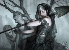 Ghoulcaller Gisa Magic the Gathering Commander 2014 card art
