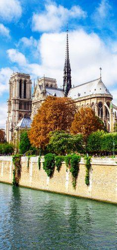 Famous Notre Dame de Paris, France - Explore the World with Travel Nerd Nici, one Country at a Time. http://TravelNerdNici.com