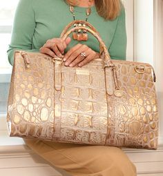 Brahmin Purse.  I have NO idea what this would cost....but it's gorgeous!