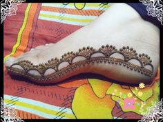 Special Feet Mehndi Design Step By Step Tutorial Crazzy Crafts