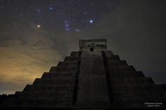 Best astronomy images 2012: Orion Over the Temple of the Serpent God